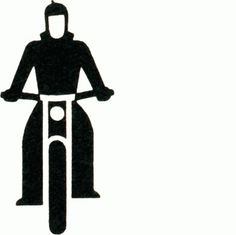 GMDH02_00906 | Gerd Arntz Web Archive #motorbike #symbols #isotype #gerd #arntz