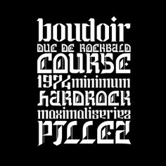 Design;Defined | www.designdefined.co.uk #type #benjaminlieb #lettering