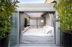 Modern The Ruiz Maasburg Penthouse Design by Hector Ruiz Velazquez Minimalist Interior Design