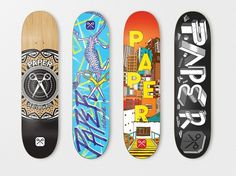 Paper Skateboards 2011** : Iconblast.com #iconblast #paper #skateboards #kate