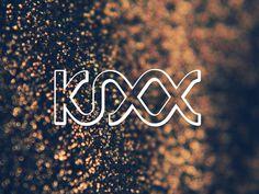 DJ Kixx Logo and identity - Mila #flow #water #modern #melbourne #photography #identity #poster #music #logo #australia #fun #light