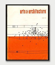 Arts & Architecture Magazine Covers, 1960s. / Aqua-Velvet