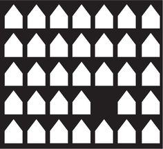 flyttat.jpg (522×478) #white #pattern #design #graphic #black #and #houses