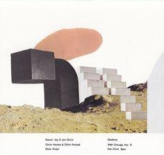 GigPosters.com - Naomi Joy & Jon Davis - Chris Hontos & Chris Farstad - Dave Krejci #gigposter #collage #poster