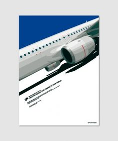 POWER GRAPHIXX inc. : Graphic #illustration #vector #plane