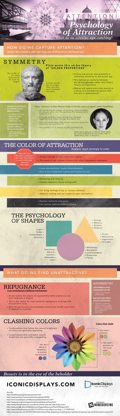 The Psychology of Attraction (Infographic) #infographic