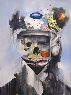 Joram Roukes - F C H i C H K 'L #painting #joram roukes