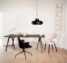 The Design Chaser: Interior Styling   Two Toned Wood #interior #design #decor #deco #decoration