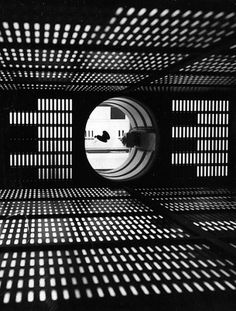 Inside HAL 9000 | iainclaridge.net #film #white #hal #photo #design #fi #black #space #2001 #sic #9000 #and #light
