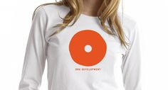 Odear - DNA #logo #orange #tee