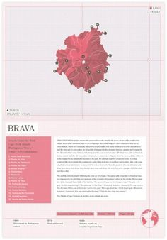 Design Work Life » Recent Grad: Trent Edwards: Atlas of Remote Islands Redesign