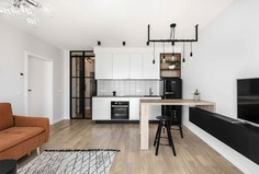 Small Urban Dwelling with Scandinavian and Feminine Accents - InteriorZine