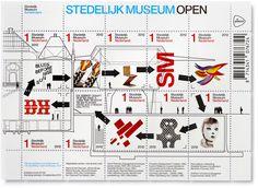 exj sma stampsheet highres #stedelijk #stamps #museum