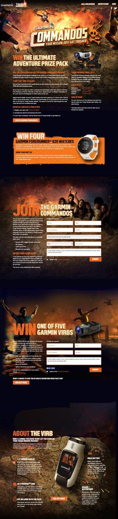 Garmin Toughmudder #page #design #tonic #garmin #mudder #one #web #tough #mud