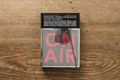 Beautiful Book Design: ON AIR - JOQUZ #cover #design #book
