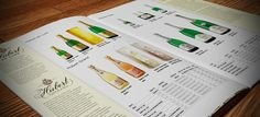 Hubert catalogue on the Behance Network #print #design #hubert #catalogue #product