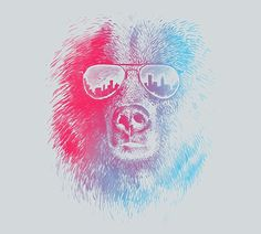 FFFFOUND! | Tee designs selected by Threadless on the Behance Network #illustration