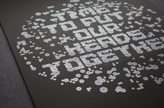 • Time To Put Our Heads Together   Effektive® Design for Print, Screen