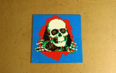 Lego mosaic of the Powell Peralta Ripper | Flickr   Photo Sharing!