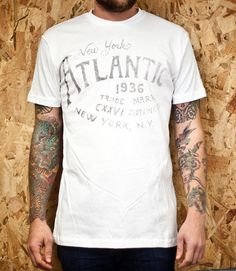 CXXVI Clothing Co. — Atlantic White #clothing #tshirt #cxxvi