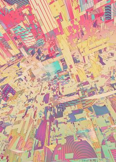 Atelier Olschinsky | PICDIT #illustration #geometric #chaos