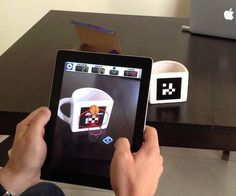 AR Basketball App Mug #gadget