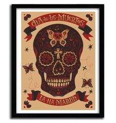 DIA DE LOS MUERTOS by STEVE SIMPSON #print #art