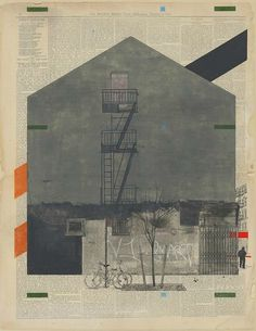 """Preview: Evan Hecox – """"Dark Island"""" @ Joshua Liner Gallery « Arrested Motion #collage"""