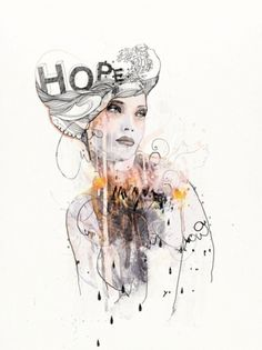 Made With Bits Of Real Panther. #illustration #hope #art