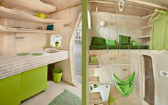 Smart student units Tengbom #interiors #architecture