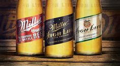 Miller High Life Heritage Series — The Dieline #packaging #design