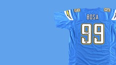 Los Angeles chargers mens apparel