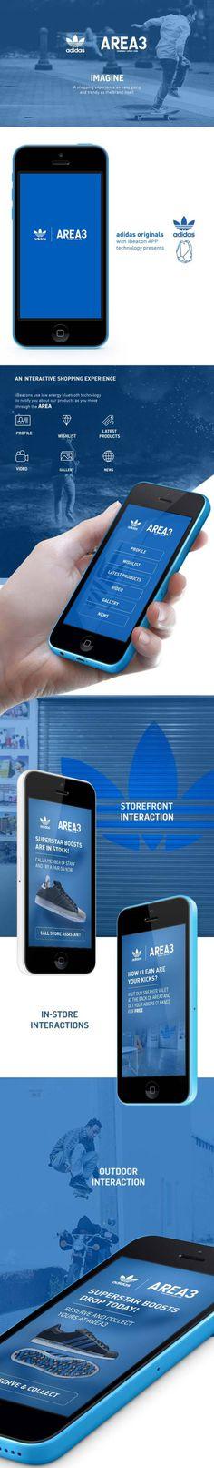 Adidas iBeacon App by Jana de Klerk