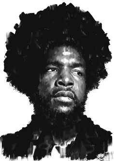 questlove #okayplayer #white #drums #questlove #roots #black #the #drum #drummer #afro #music #rap #love
