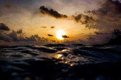 Flickr Finds No. 32 #ocean #water #sky #photography #colors #nature #sunset