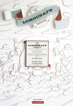 Lomocraft on Behance #paper