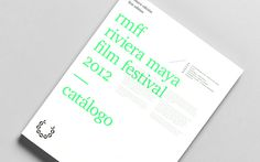 RMFF xe2x80x94 Riviera Maya Film Festival #anagrama #neon #print #identity #poster #type #overlay #typography