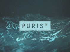 Dribbble - Purist by Anthoney Carter #purist #rock #doom #minimal #memphis #pure #futura #metal #band #waves