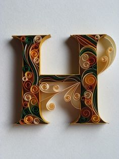 paper+ typography on the Behance Network #letters #paper #typography