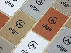 Algu #logo #print #identity