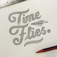 Time flies - by Anthony Hos