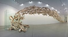 The Explosive Works of Cai Guo Qiang | Hi Fructose Magazine #wolves #wolf