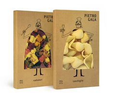Дизайн упаковки пасты «Pietro Gala» #packaging #gala #pasta #pietro #bespoke #funny