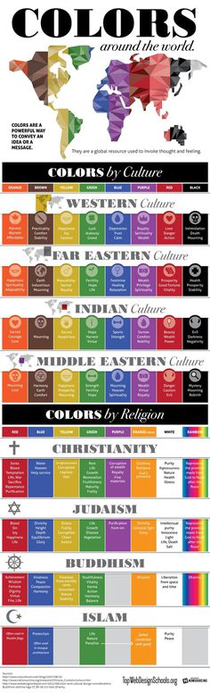 Colors and Culture #infographic