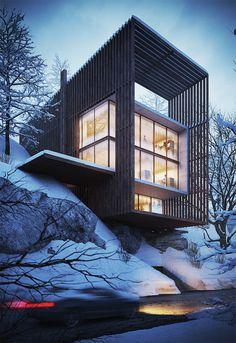 Exteriors by Marwan Saliba #inspiration #modern #architecture
