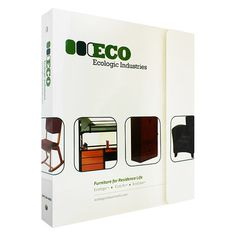2 Pocket Portfolio Flap 3 Ring Binder for Ecologic Industries