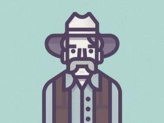 Stranger_400px #illustration #big #lebowski