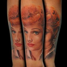 lucille ball #tattoos