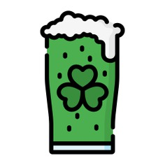 See more icon inspiration related to green beer, food and restaurant, Irish, pub, alcoholic drink, ireland, alcohol and drink on Flaticon.