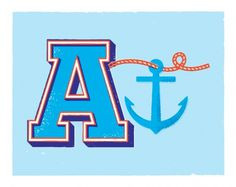 anchor-2.png (PNG Image, 890x709 pixels) #letter #illustration #anchor